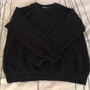 H&M black sweater.